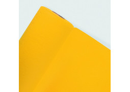 Chemin de table intissé jaune (passion yellow)
