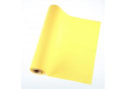 Chemin de table intissé jaune citron