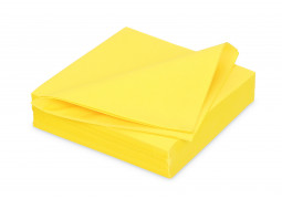 Serviettes intissées citron