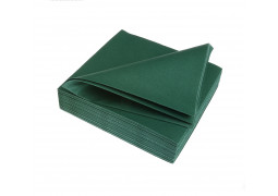 Serviettes intissées winter green (vert foncé)