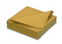 Serviettes intissées gold (or)