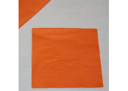 Serviettes papier oranges