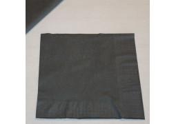 Serviettes papier stone grey (gris foncé)