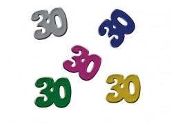 Confettis de table anniversaire 30