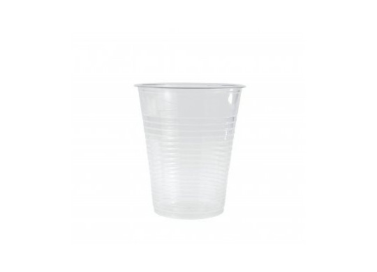 Gobelet plastique transparent