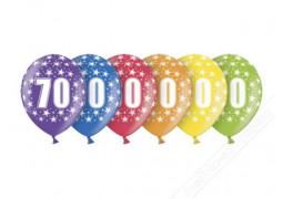 Ballons anniversaire 70 ans