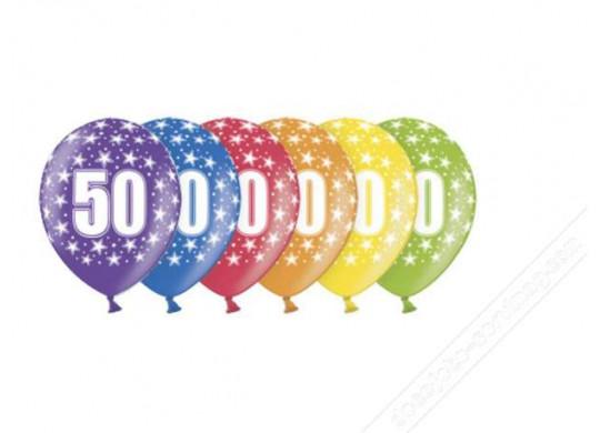 Ballons Anniversaire 50 Ans Article De Fete