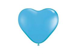 Ballon coeur turquoise