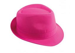 Chapeau borsalino rose fluo