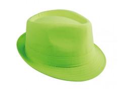 Chapeau borsalino vert fluo