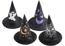 Chapeau enfant sorcière tissu