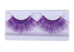 Faux cils jumbo violets