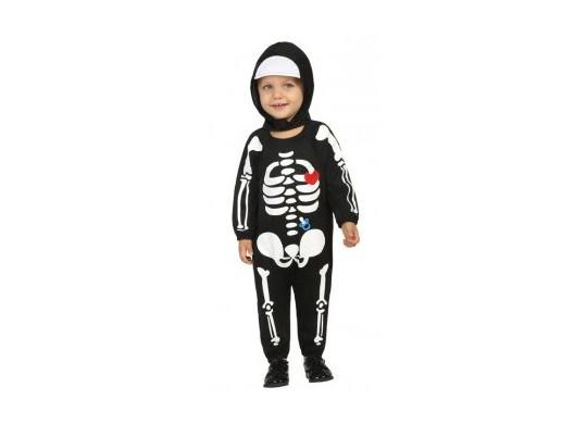 Costume baby squelette