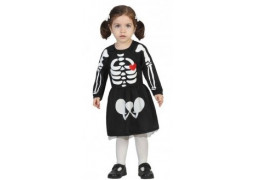 Costume baby squelette