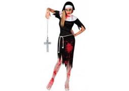 Costume femme religieuse ensanglantée