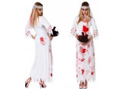 Costume femme mariée ensanglantée