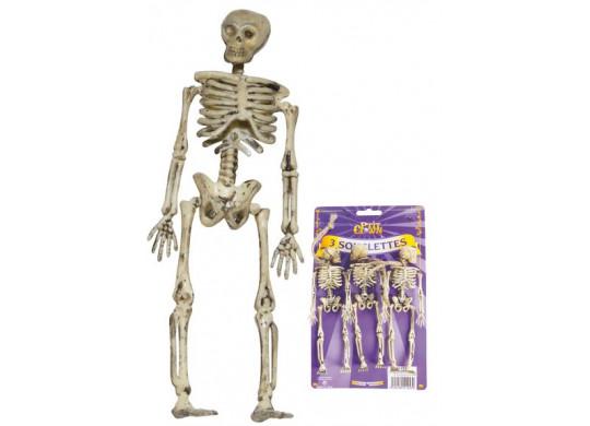 Squelette plastique x2