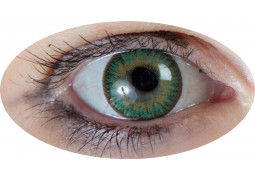 Lentilles de contact iris vert