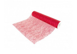 Chemin de table glitter rouge