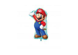 Ballon aluminium Mario