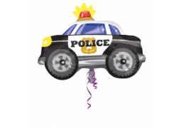 Ballon aluminium voiture de police