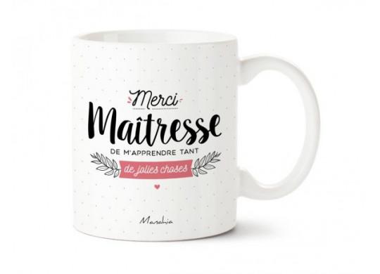 Mug Merci maîtresse - recto